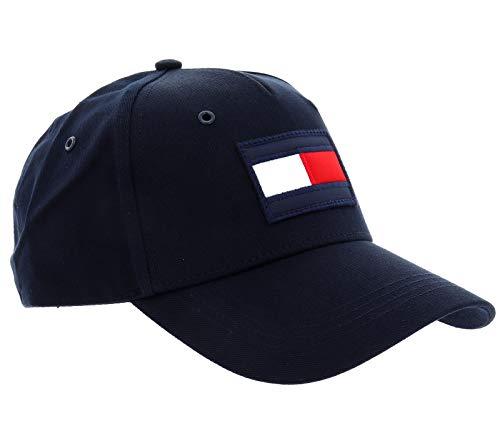 Tommy Hilfiger AM0AM05611 BIG FLAG CAP HUT Herren SKY CAPTAIN UNI