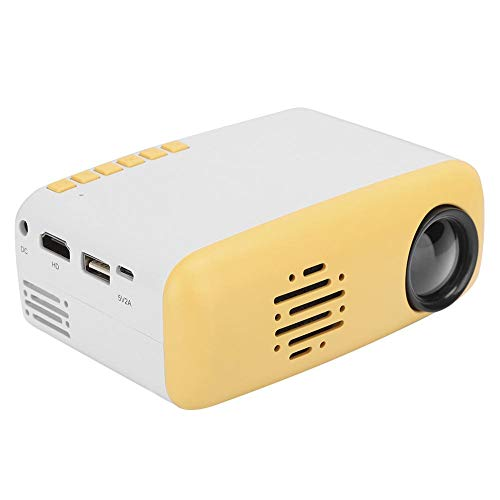 Projector, kantoor- en thuisprojector, LCD-videoprojector, voor laptop, bedrijf en thuisbioscoop (1920 x 1080 HD-scherm)(EU)