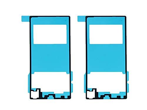 Flügel 2 x Kleber Akkudeckel Klebefolie Klebepad Back Cover Sticker Adhesive für Sony Xperia Z1 L39H c6902 c6903