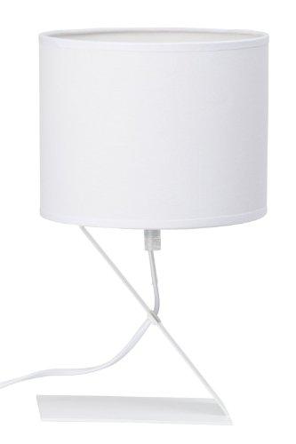 Brilliant - 92854/05 - Lampe de Table - Zaz Moderne - 40 W - E14-230 V - Blanc