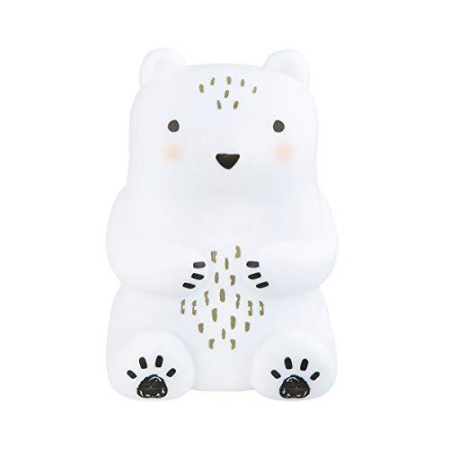 Veilleuse animal bébé ours des bois pour chambre enfant design original bear camp L10 x H15 cm