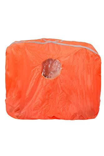 Mountain Warehouse Donnez l'assaut à l'abri - 2/3 Personne - abri Orange Lumineux de Secours, Le Sac léger de Bothy, contrat avec Windows jumeau Orange Taille Unique