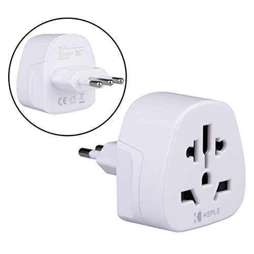 Italy Italia IT Adapter Plug Viaje Tipo L to a UK, US USA American, EU Europe European, AUS Australia, China, Swiss, Japan, Spain, Canada Adaptador Enchufe Adaptor Universal Internacional 3 Pin