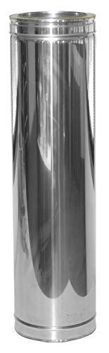 Laengenelement 940mm für Schornsteinsets 130mm