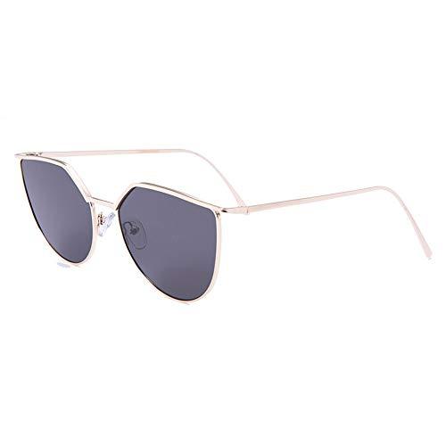 KK Timo Nuevas Gafas De Sol De Montura Gafas De Moda Conducción Gafas De Sol De Ocio (Color : Black)