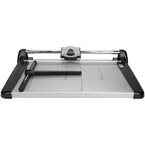 Recortadora de papel A4, regla de corte para recortadora de fotos de papel para oficina, escuela, estudio fotográfico, plata