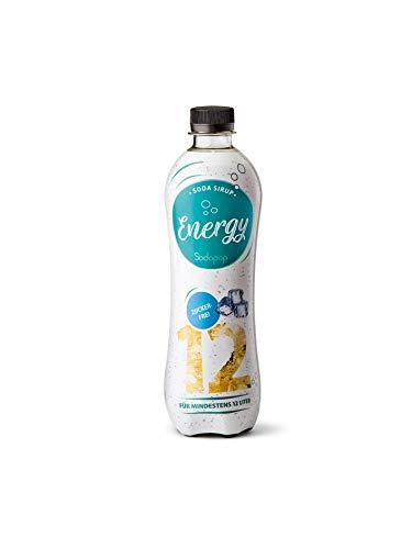 Sodapop Getränkesirup, Sirup, Energy, Zuckerfrei 500 ml