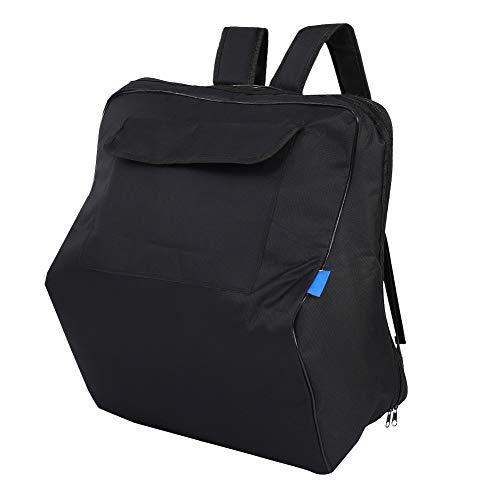 SunshineFace Bolsa de acordeón, duradera y acolchada, correa para el hombro, color negro, bolsa de transporte de acordeón