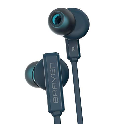 Braven Flye Sport - Water-Resistant, Bluetooth Earbud - Blue, 604002602
