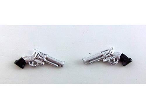Desconocido Miniatura para Casa de Muñecas 1:12 Escala Estudio Cajón Metal Accesorio Pistolas Armas
