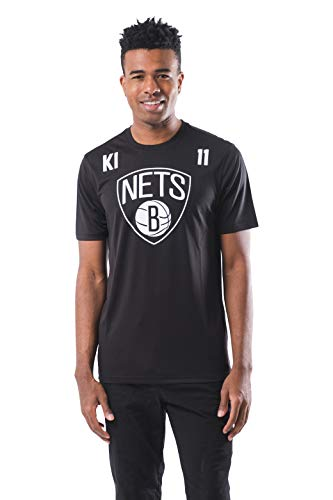 Ultra Game NBA Brooklyn Nets - Kyrie Irving Mens Active Tee Shirt, Team Color, X-Large
