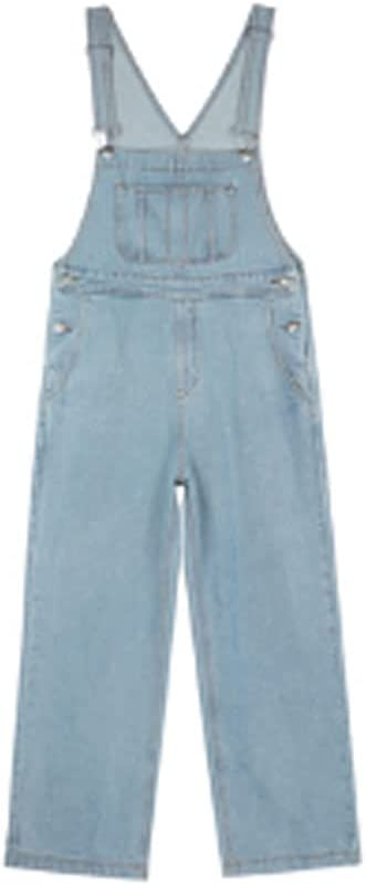 PDGJG Women's New Spring and Kore Super beauty product restock quality top free Autumn Denim Overalls