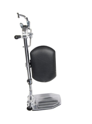 Drive Medical Elevating Legrests for Bariatric Sentra Wheelchairs, Chrome