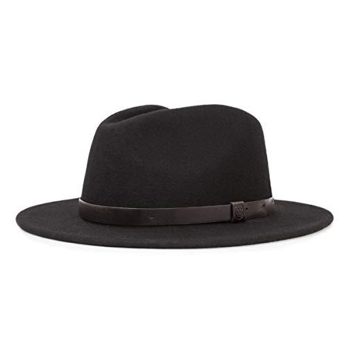BRIXTON Chapeau Messer XL Noir/Noir