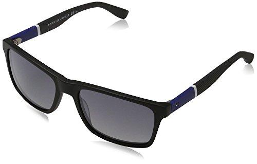 Tommy Hilfiger - TH 1405/S - Sonnenbrille Herren Rechteckig - Leichtes Material - 100% UV schutz - Schutzkasten inklusiv