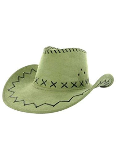 Armardi d Chapeau de cowboy vert clair
