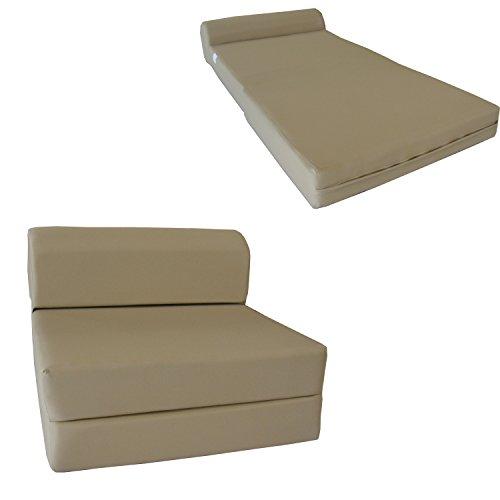 Chair Folding Foam Bed, Studio Sofa Guest Folded Foam Mattress (6