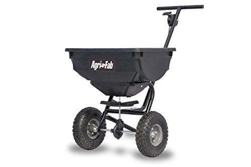 Agri-Fab 45-0531 85-lb 85 lb Deluxe Push Spreader, Black