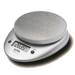 Laica BX9300 Bilancia da Cucina Elettronica, 3 kg/1 g, Acciaio, argento