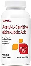 GNC Acetyl-L-Carnitine Alpha-Lipoic Acid 500mg / 200mg