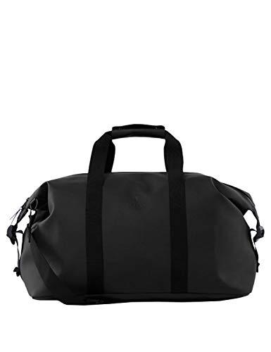 RAINS Weekend Bag Tasche, Unisex, Erwachsene, Schwarz, Einheitsgröße