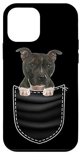 iPhone 12 mini Staffordshire Bull Terrier Breed - Dog Pocket Design Gift Case