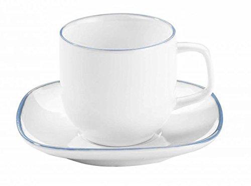 Korkmaz Kappa - Juego de tazas de café (12 piezas)