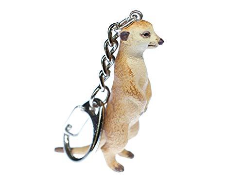 Miniblings Llavero suricatas Prairie Dog - Hechos a Mano Pendientes de joyería de Moda I Llavero...