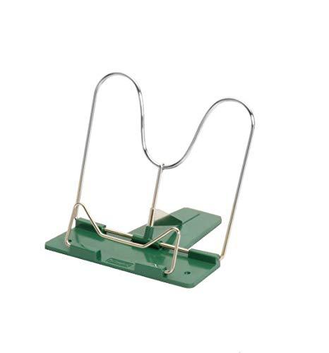 Herlitz Leseständer mit Metallbügel und Kunststoffsocke (Grün, 1 Leseständer)