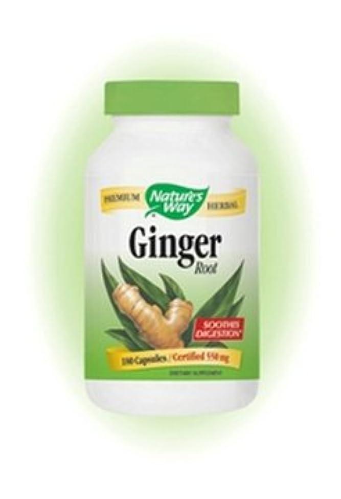 Nature's Way - Ginger Root 180 caps