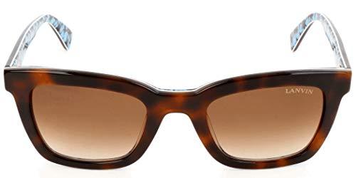 Lavin Lanvin Sonnenbrille SLN723V 0APB 49 23 140 Gafas de sol, Marrón (Braun), 49.0 para Mujer