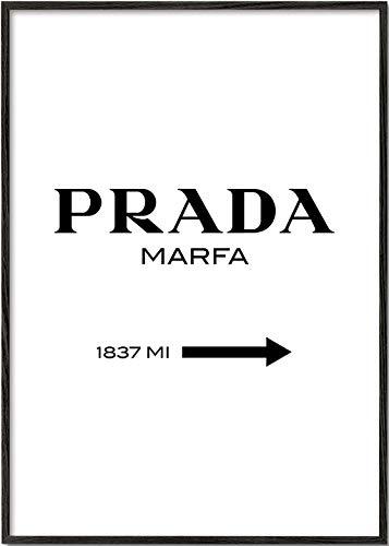 Artesta Lámina para enmarcar Prada Marfa (40x50 cm)