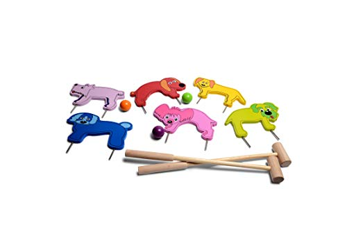 BuitenSpeel Toys Croquet Jr. Outdoor Game