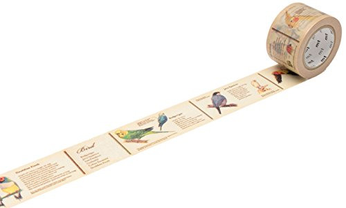 mt Ex Washi Allzweckband Encyclopaedia/Bird