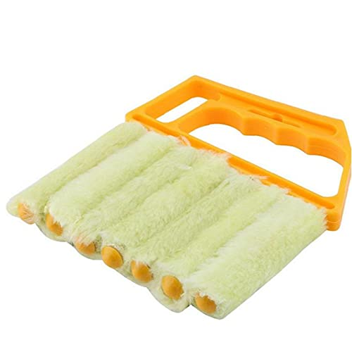 Ruluti Portable Cleaner Microfibra Veneziana Lama Finestra Condizionatore Polvere Brushvents Cleaner Cleaner Lavabile Aspirapolvere