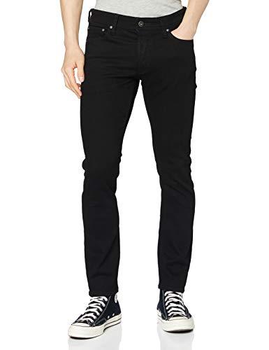 JACK & JONES Jjiglenn Jjoriginal AM 816 Noos Slim Jeans, Nero (Black Denim), 32W...