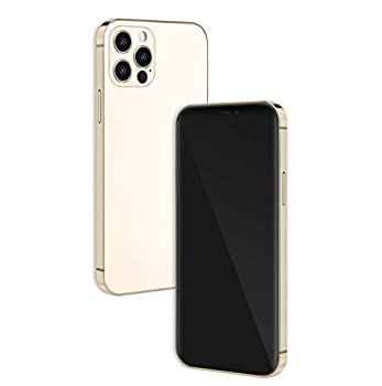 Without Logo - Non Working Replica 1 1 Phone Dummy Display Phone Model for Phone 12 Pro / 12 Pro Max Fake Model Toy  Gold Blackscreen 6.1inches