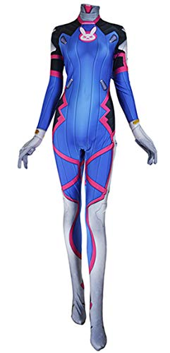 ourworth D.Va Kostüm Videospiel Overwatch D.VA Cosplay Kostüm - - Medium