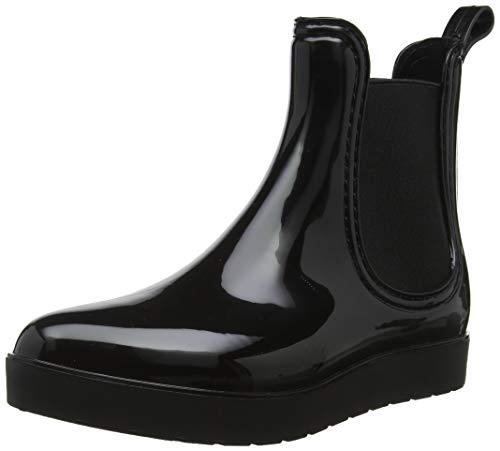 Buffalo Damen TC Aqua PVC Stiefeletten, Schwarz (Black 00), 38 EU