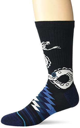 Stance Crotalus Crew Socks - Black