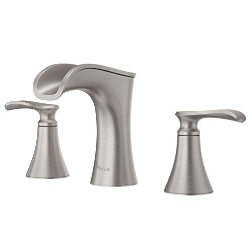 Pfister LF-049-JDGS Jaida Waterfall Widespread Bathroom Sink Faucet, Spot Defense Brushed...