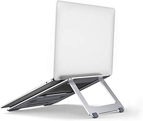 BWGF Soporte Portátil Mesa, Laptop Desk, Soporte de Portátil, Soporte Plegable de aleación de Aluminio portátil, Adecuado para computadoras portátiles de hasta 17 Pulgadas