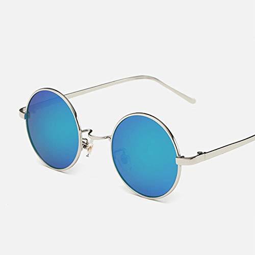 Gafas de Sol Sunglasses Gafas De Sol Steampunk Hombres Mujeres Gafas De Sol Redondas Gafas De Sol Polarizadas De Metal Vintage Gafas Uv400 G