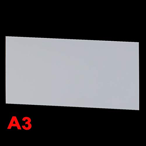 New Lon0167 3mm White Featured Plastic Acrylic Plexiglass reliable efficacy Sheet A3 Size 297mm x 420mm(id:a90 73 1f 9b7)