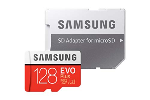 【Fire, Fire HD 8, Fire HD 10対応】Samsung microSDカード128GB EVOPlus Class10 UHS-I対応 Nintendo Swi...