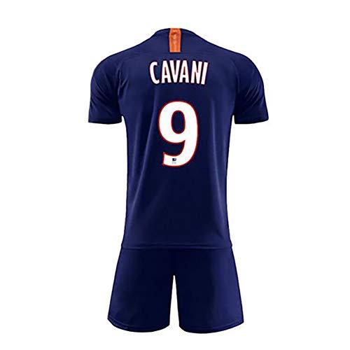Camiseta Mbappé No. 7, Camiseta de Entrenamiento de fútbol Neymar JR No. 10, Camiseta Cavani No. 9, Camiseta de fútbol Local y visitante de la Temporada 19-20 de París-Cavani-XL