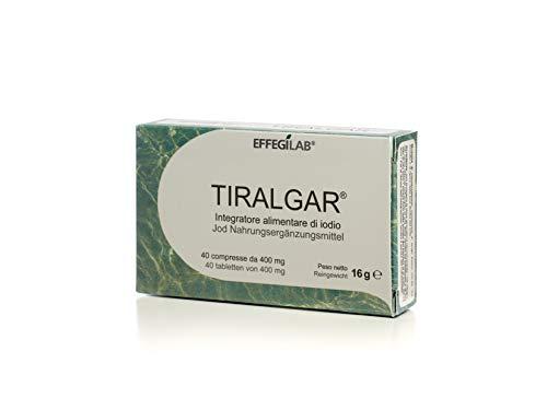 Iodio 400mg compresse TIRALGAR - di Effegilab