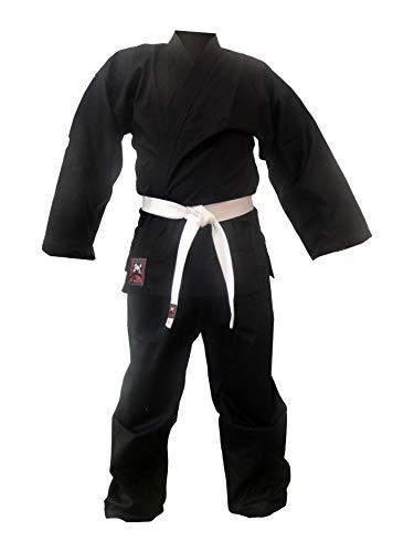 Karateanzug Bushido Extra schwarz (120)