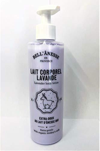 Lait corporel lavande au lait d'anesse bio - Label Provence