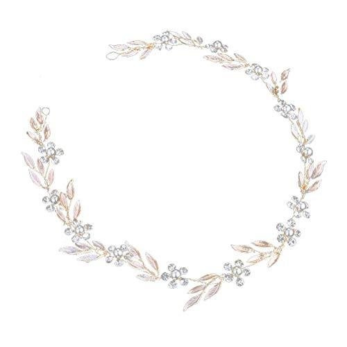 Épingles à cheveux pour mariée - Strass - Accessoire de coiffure de mariage - 50 cm